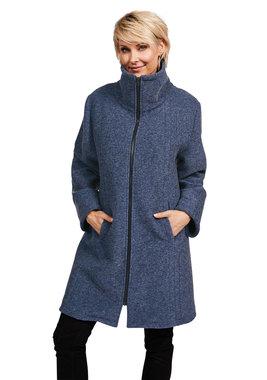 Herluf design Lido winterjas blauw