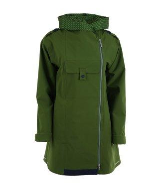 Blaest regenjas model London groen