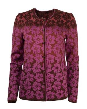 Oleana Cardigan 350 K cerise burgundy