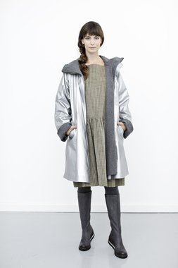 McVerdi Rubber jas winter MCB zilver