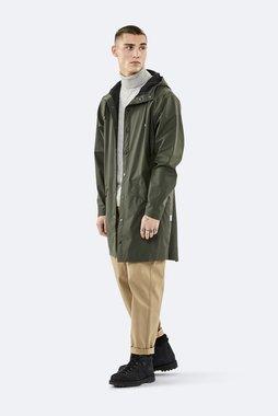 Rains Regenjas Long Jacket unisex green 1202-03