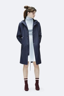 Rains Regenjas Fishtail Parka unisex blue 1257-02
