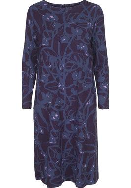Two Danes Ceylan Dress Dark Purple/Iris Blue 93627-P948/968