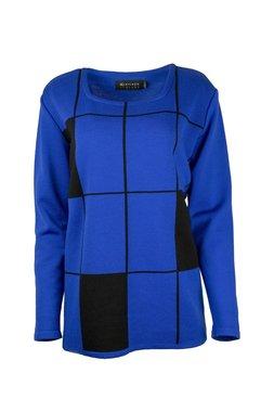 Karvinen Rastar shirt H023 zwart kobalt