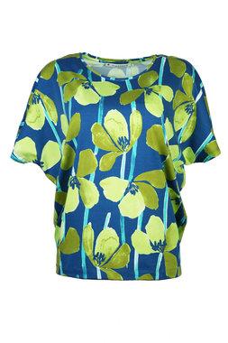 Mansted kleding Tulla shirt aqua
