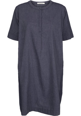 Two Danes jurk Callie blauw