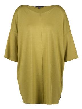 Oska jurk Kentaro 917 740MOSS geel/groen