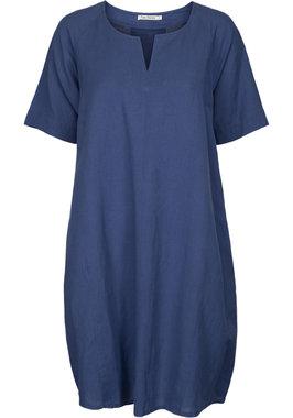 Two Danes jurk Laica blauw