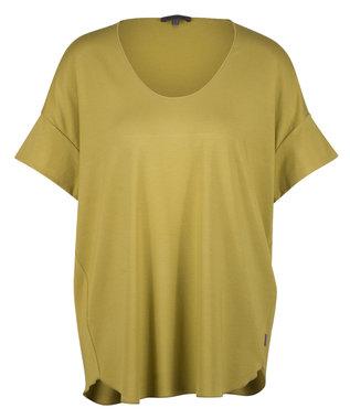 Oska shirt Kerria 918 740MOSS geel