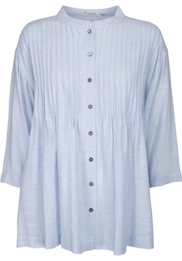 Two Danes blouse Gyrit lichtblauw