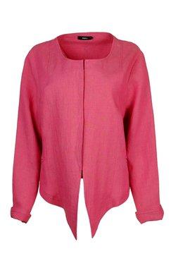 Ralston kort linnen jasje Babi roze 41571