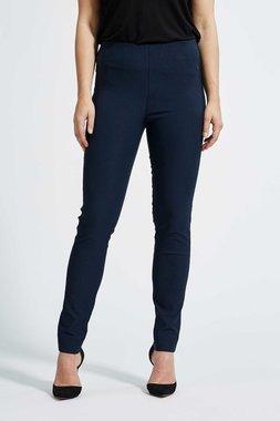 Laurie broek, model Vicky Slim basis viscose blauw 27016-49970