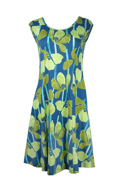 Mansted kleding Tulip jurk aqua