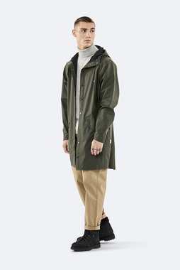 Rains Regenjas Long Jacket unisex green 1202-03