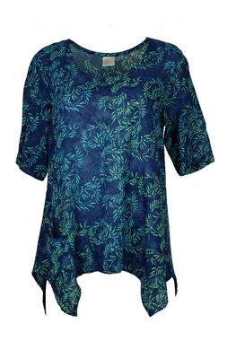 Unikat Artwear kleding shirt 148 jeans blauw