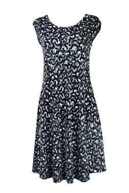 Mansted kleding Rihana jurk zwart