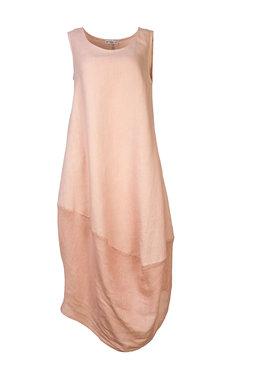 Blueberry Italia linnen jurk pink 9073