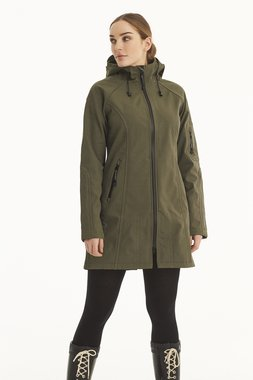 Ilse Jacobsen Rain Coat 37B 410210 Army