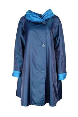 Herluf jas Storm twee zijden draagbaar lichtblauw blauw