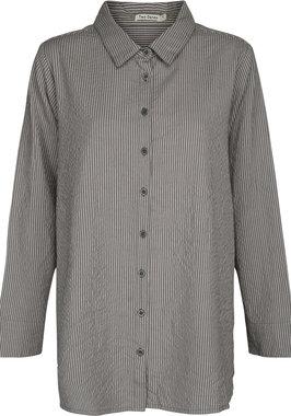 Two Danes blouse Tekla pewter-grey violet