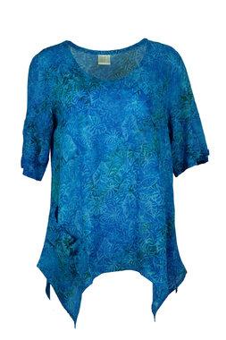 Unikat Artwear kleding shirt 148 aqua