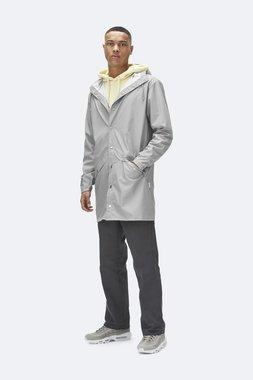 Rains Regenjas Long Jacket unisex stone 1202-75