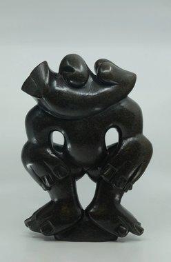 Stenen beeld uniek, African People, David Mushonga, Tengenenge