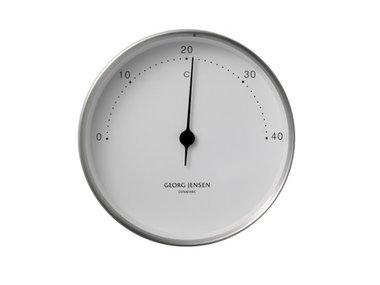 Georg Jensen thermometer RVS/wit 10 cm Henning Koppel