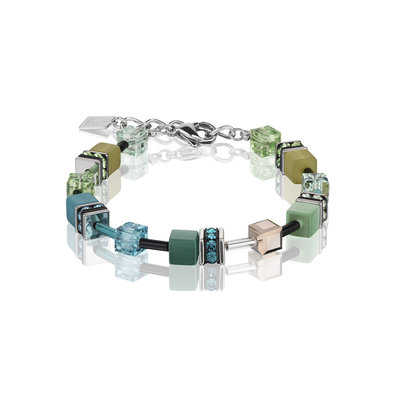 Coeur de Lion Armband 2838/ /0537 Green-Petrol