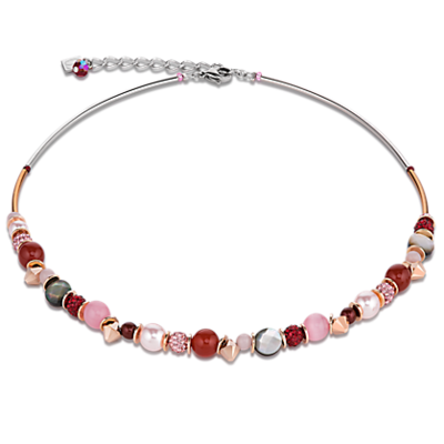 Coeur de Lion Ketting 4864/ /0319 Red-Rose