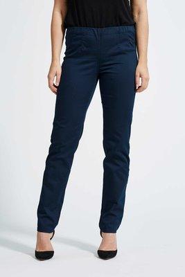 Laurie broek, model Betty Regular basis katoen donker blauw 28111-49200