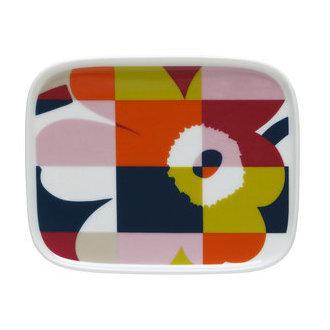 Marimekko servies Oiva/Unikko schotel multicolor 065897