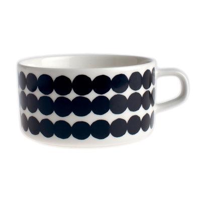 Marimekko servies Oiva theekop wit/zwart 2,5 dl 063294-190