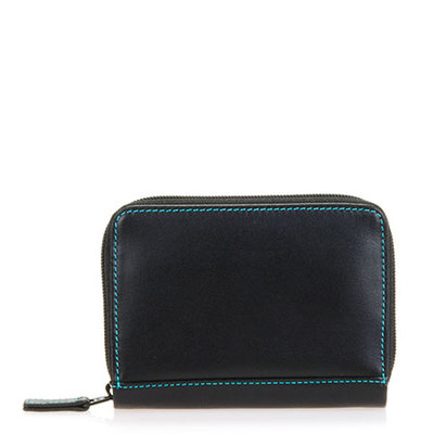 MyWalit Zip Around Credit Card Holder RFID Black Pace 1432-4