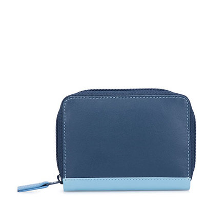 MyWalit Zip Around Credit Card Holder RFID Royal 1432-127