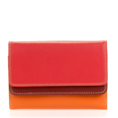 MyWalit Double Flap Wallet Berry Blast 250-18