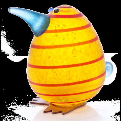 Glasstudio Borowski Kiwi Egg Yellow