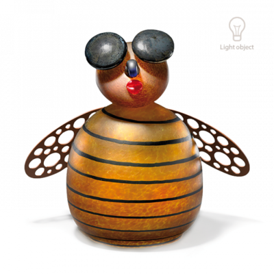 Glasstudio Borowski Biene Amber