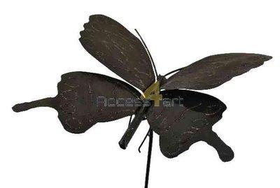 Vlinder op stok groot BBSL
