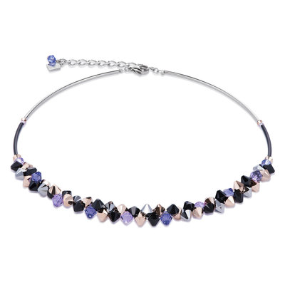 Coeur de Lion Ketting 4938/ /0800 Purple