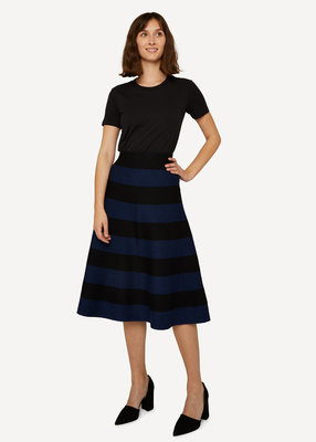 Oleana rok Skirt 507W North sea