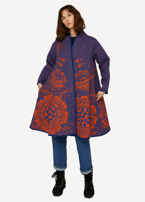 Oleana Soft may coat 509E Blue carrot