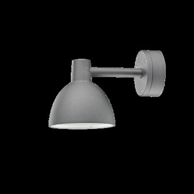 Louis Poulsen buitenlamp Toldbod 155 wandlamp grijs