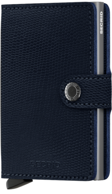 Secrid Miniwallet M Rango Blue Titanium portemonnee