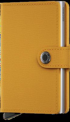 Secrid Miniwallet MC Crisple Amber portemonnee