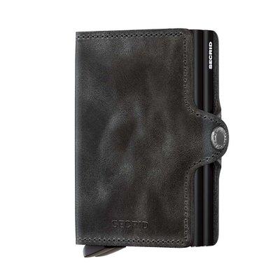 Secrid Twinwallet T Vintage Black portemonnee