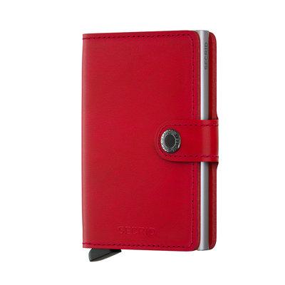 Secrid Miniwallet M Original Red Lipstick portemonnee