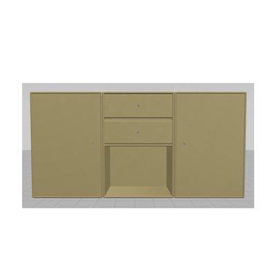 Montana dressoir, model E kasten systeem campagne ladekast/opbergkast