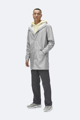 Rains Regenjas Long Jacket unisex stone 1202-75