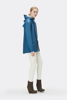 Rains Regenjas Jacket unisex faded blue 1201-42